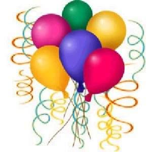 Cumpleaños, globos, fiesta