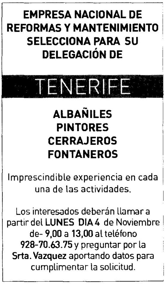 Alba iles pintores as cerrajeros as y fontaneros as for Trabajo para pintores