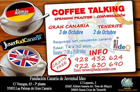 Coffee Talking en Canarias