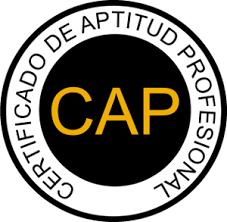 CAP, Certificado de Aptitud Profesional