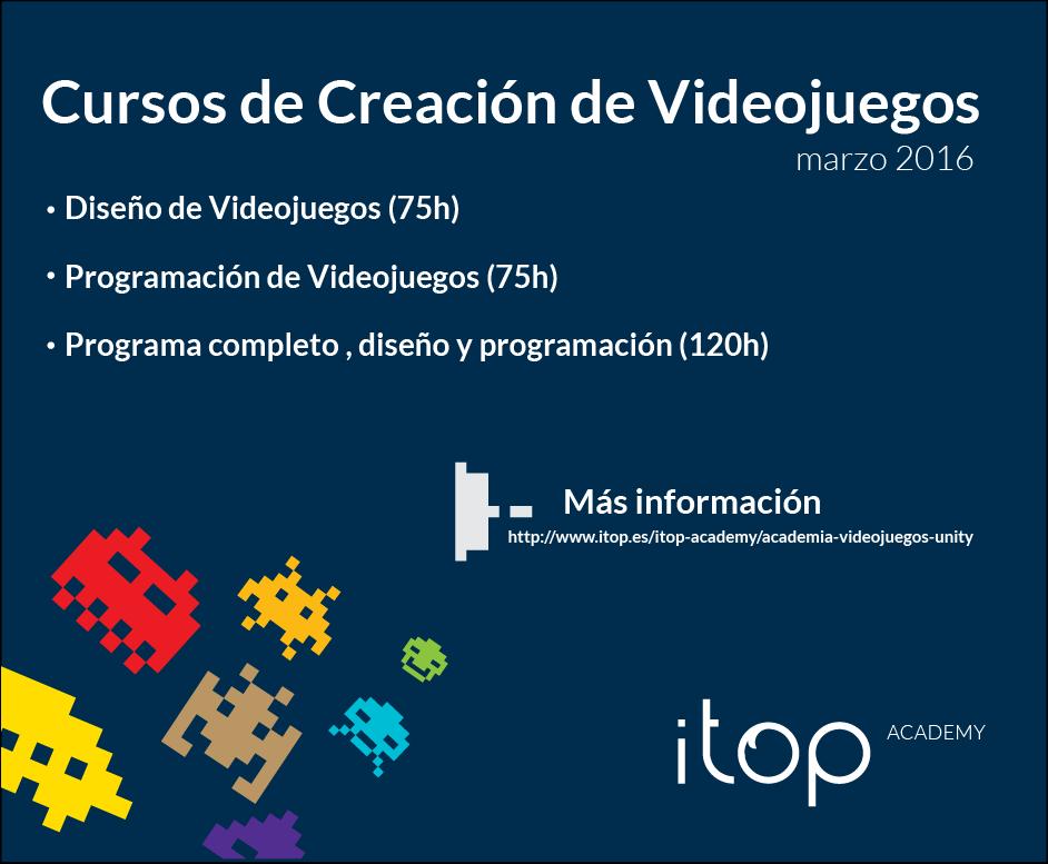 Itop Consulting: Cursos de Creación de Videojuegos