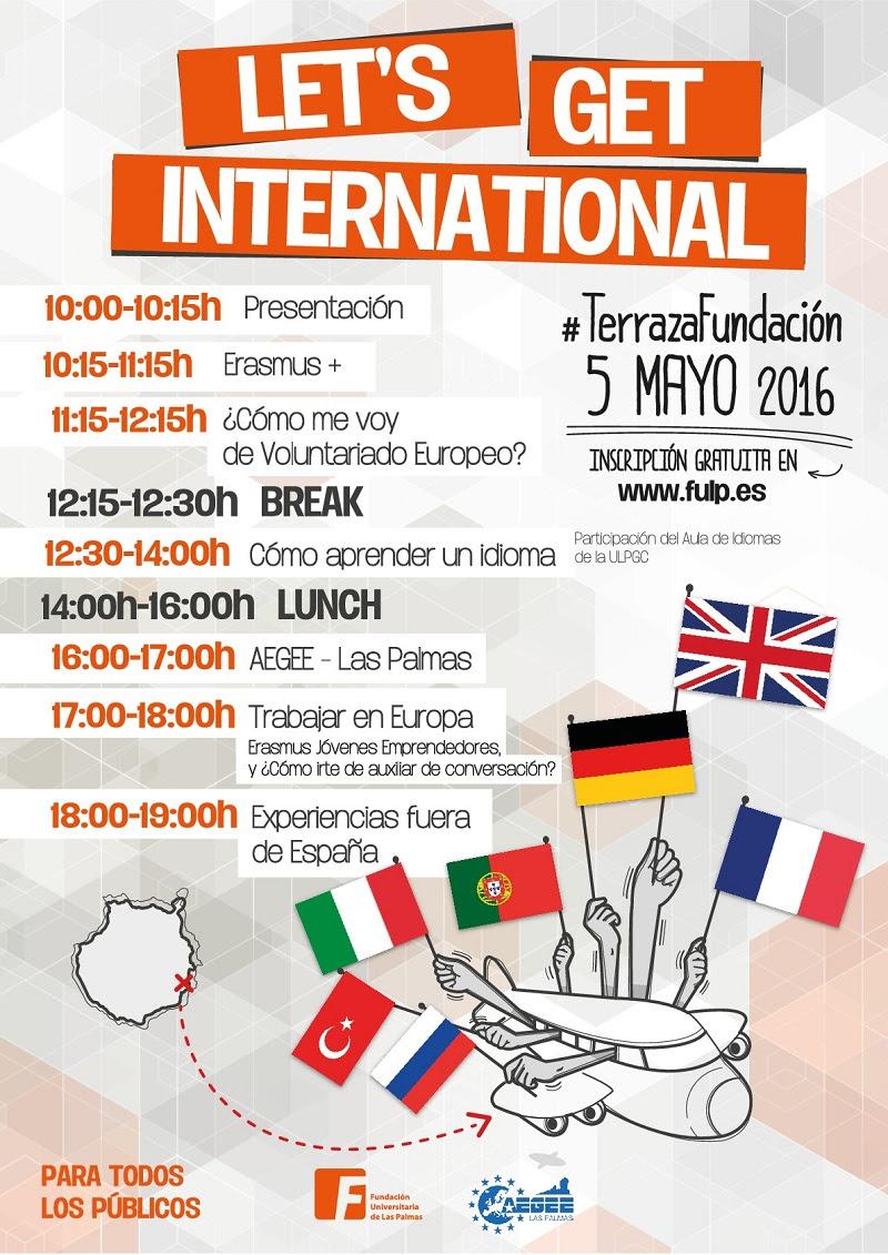 Te invitamos el 5 de mayo. ¿Quieres vivir experiencias fuera de España?