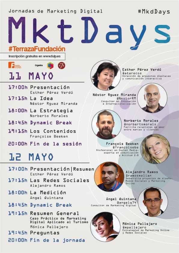 #MktDays : Jornadas de Marketing Digital, en Las Palmas de GRAN CANARIA
