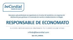 Responsable de Economato