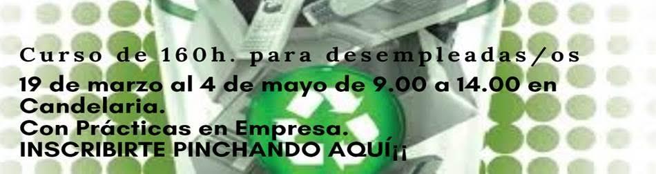 """Curso gratuito: """"Tratamiento de Residuos"""" en Tenerife"""
