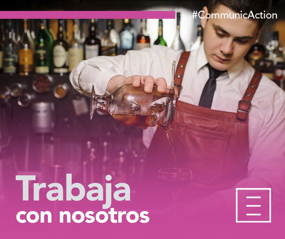 New Line Events: BARTENDER con perfil comercial